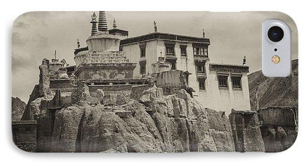 Lamayuru Monastery IPhone Case by Hitendra SINKAR