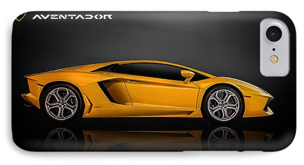 Lamborghini Aventador IPhone Case by Douglas Pittman