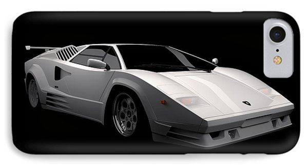 Lamborghini Countach 5000 Qv 25th Anniversary IPhone Case