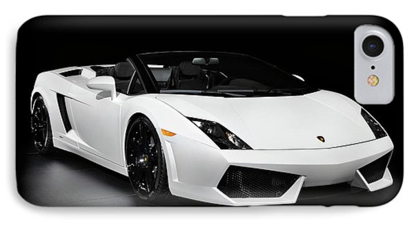 Lamborghini Gallardo Lp560-4 Spyder IPhone Case by Oleksiy Maksymenko