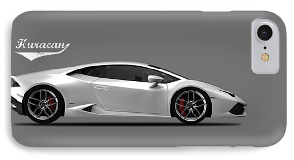 Lamborghini Huracan IPhone Case by Mark Rogan