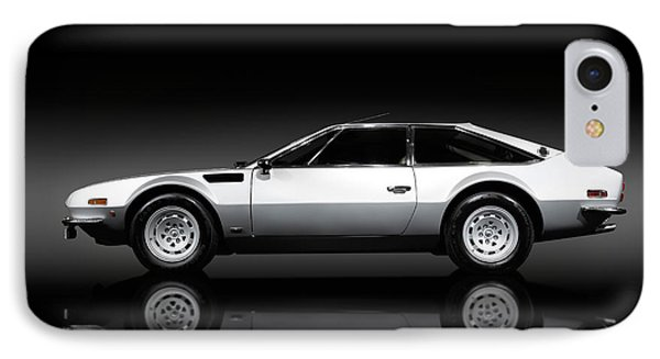 Lamborghini Jarama 1972 IPhone Case by Oleksiy Maksymenko