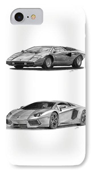 Lamborghini Lp V12 Duo Phone Case by Gabor Vida