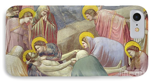 Lamentation Over The Dead Christ IPhone Case