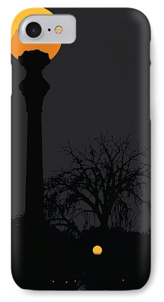 Lamp At Night IPhone Case