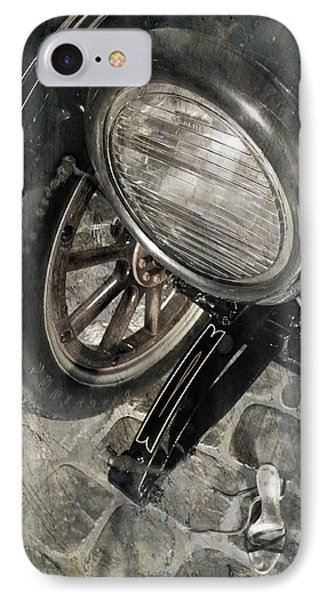 IPhone Case featuring the photograph Vintage Car #3124 by Andrey  Godyaykin