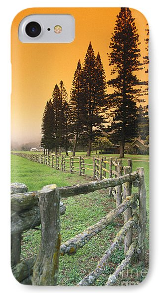 Lanai, City View Phone Case by Ron Dahlquist - Printscapes