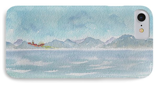 IPhone Case featuring the painting Land Ahoy Cruising By Cuba by Pat Katz