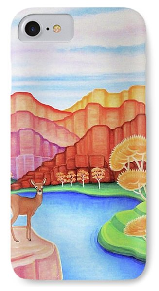 Land Of Enchantment IPhone Case by Tracy Dennison