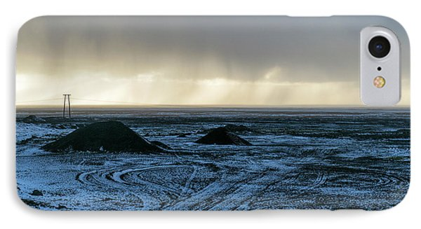 IPhone Case featuring the photograph land of Lava by Dubi Roman