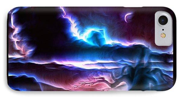 Land Of Nightmares IPhone Case by Mario Carini