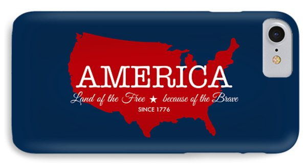 Land Of The Free IPhone Case by Nancy Ingersoll