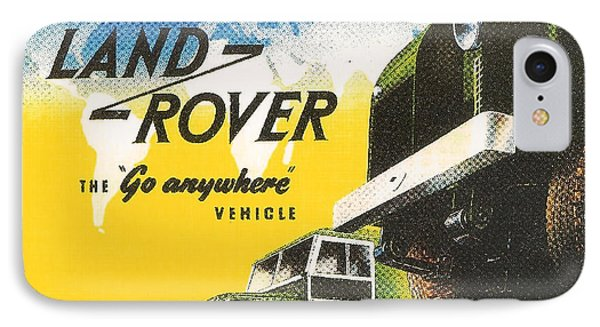 Land Rover IPhone Case by Georgia Fowler