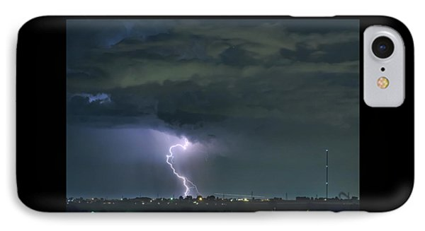 IPhone Case featuring the photograph Landing In A Storm by James BO Insogna