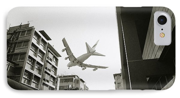 Landing In Hong Kong IPhone Case by Shaun Higson