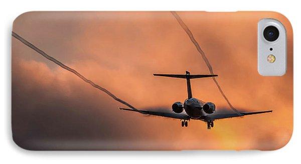 Landing In L.a. IPhone Case by April Reppucci