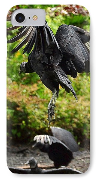 Landing In The Rain IPhone Case by Amy Spear