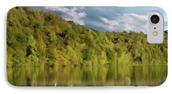 IPhone Case featuring the photograph Landingville Lake Pennsylvania by David Dehner