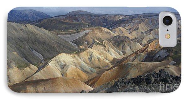 Landmannalaugar Rhyolite Mountains Iceland IPhone Case