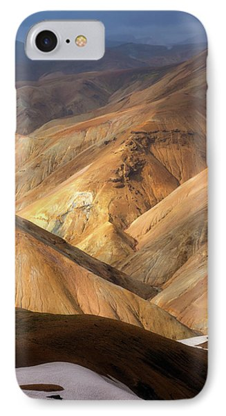 Landmannalaugar IPhone Case by Tor-Ivar Naess