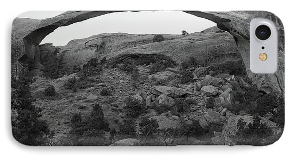 Landscape Arch IPhone Case by Marie Leslie