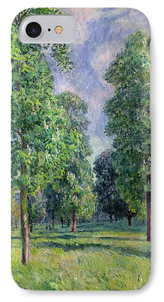 Landscape At Sevres Phone Case by Alfred Sisley