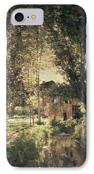 Landscape IPhone Case by Charles Francois Daubigny