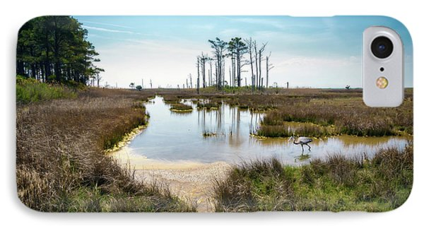 Landscape - Hooper's Island IPhone Case by Brian Wallace