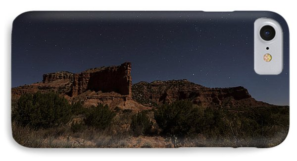 IPhone Case featuring the photograph Landscape In The Moonlight by Melany Sarafis