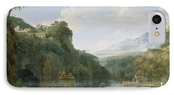 Landscape Of Ancient Greece IPhone Case by Pierre Henri de Valenciennes