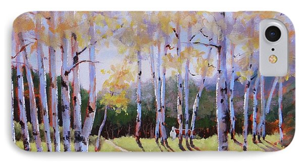 Landscape Series 3 IPhone Case by Laura Lee Zanghetti