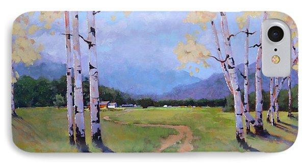 Landscape Series 4 IPhone Case by Laura Lee Zanghetti