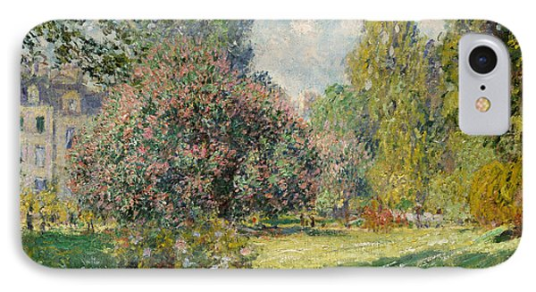 Landscape  The Parc Monceau, 1876  IPhone Case