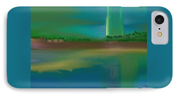 Landscape With A Chance Of Rain IPhone Case by Lenore Senior