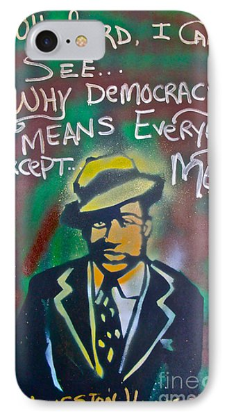Langston Hughes IPhone Case by Tony B Conscious