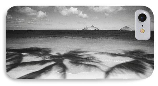Lanikai Beach - Bw IPhone Case by Dana Edmunds - Printscapes