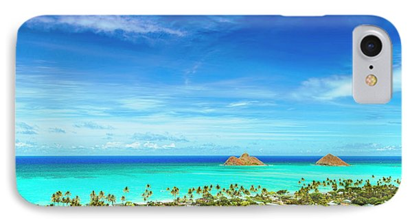 IPhone Case featuring the photograph Lanikai Beach From The Pillbox Trail by Aloha Art
