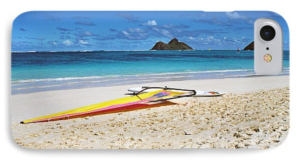 Lanikai Beach Oahu IPhone Case by Thomas R Fletcher