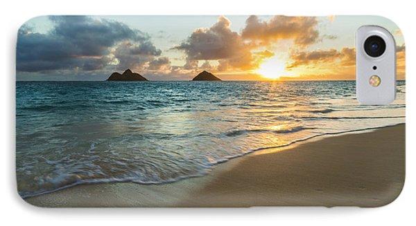 Lanikai Beach Sunrise 2 IPhone Case