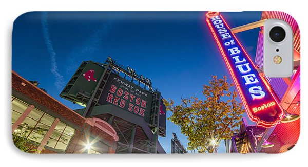 Lansdowne Street Fenway Park House Of Blues Boston Ma IPhone Case by Toby McGuire