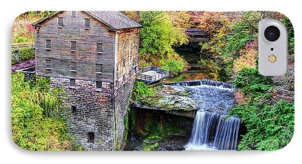 Lanterman's Mill And Bridge Phone Case by Marcia Colelli