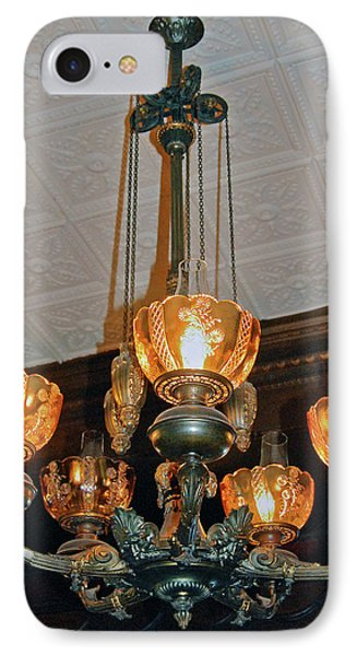 Lantern Chandelier Phone Case by DigiArt Diaries by Vicky B Fuller