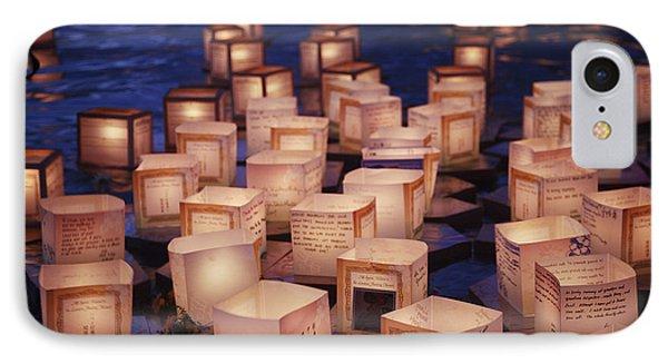 Lantern Floating Ceremony IPhone Case