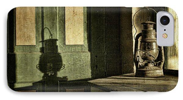 Lantern Shadow Phone Case by Sari Sauls