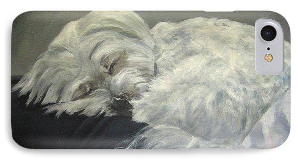 Lap Dog Phone Case by Elizabeth Ellis