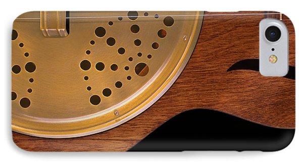 Lap Guitar I Phone Case by Mike McGlothlen