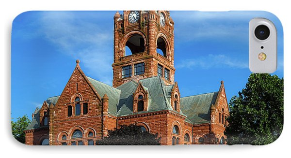 Laporte County Courthouse - Indiana IPhone Case