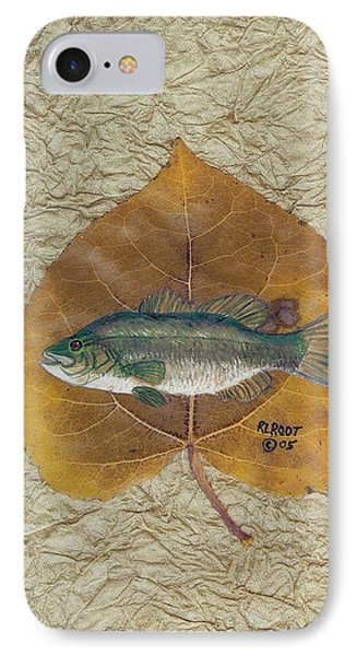 Large Mouth Bass #3 IPhone Case