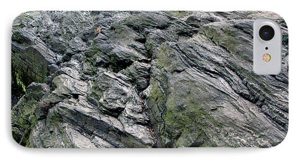 Large Rock At Central Park IPhone Case by Sandy Moulder