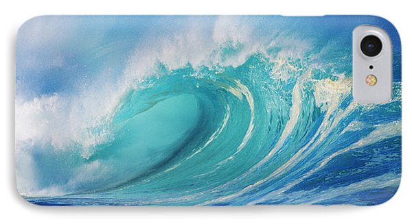 Large Wave Curling IPhone Case by Ron Dahlquist - Printscapes